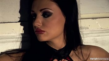 The Young & Stunning Aletta Ocean Pisses while Bound 15 min