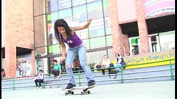 Tight punk pussy Punk skateboarder latina named diana delgado getting her tight pussy fucked hard