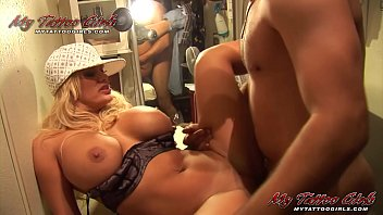 Shyla Stylez getting a good fuck at the tattoo shop after new tattoo