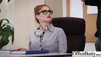 Hot Nasty Cute Girl (Lennox Luxe) With Big Juggs Like Sex In Office vid-20