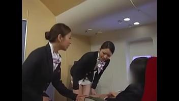 Airline Handjob Training