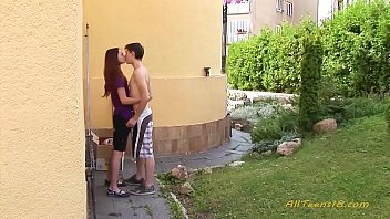 Young Slim Teenager Have Sex After School