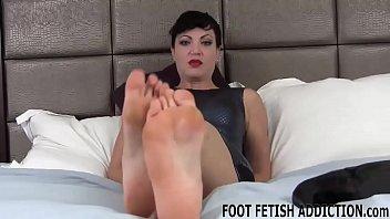 I heard a rumor that you were a foot freak