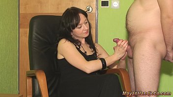 2 cumshots on Maya clothes preview image