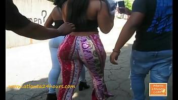 Megan Tha Stallion Before Rap Game !!!! Candid Booty !!! Atlanta24Hours.com