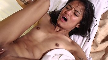 Married Asian Slut Viva Athena Savagely Fucked In front of Hubby BreakHerIn.com