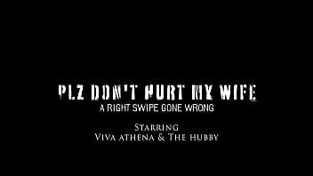 Married Asian Slut Viva Athena Savagely Fucked In front of Hubby BreakHerIn.com