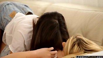 April O'neil and Sara Lesbian Girlfriends - LesbianCums.com 21 min