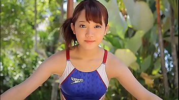 Image host porn - Azusa tsukahara high-leg swimsuit blue legs-fetish image video solo