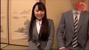 新入社員が既婚上司を特濃キスSexで逆Ntr