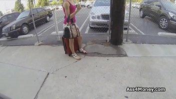 Cute Blonde Hitchhiker Sucks Thick Dick