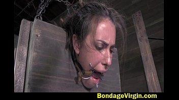 Casey Calvert metal bondage 2 pt 1 of 4