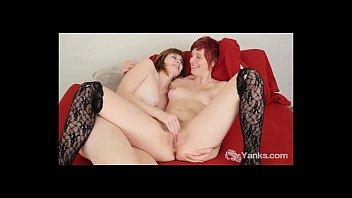 Horny Yanks Lesbians Sosha Belle And Aurora