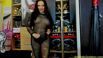Bodystocking fetish Jerk addict for me,strap-on,joi,cei,cbt,worship my luxury nylon and diamonds bodystocking,poppers