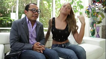 Mexican Nerd Fucks A Girl From His Office!!!