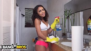 Curly latina porn tubes - Bangbros - young teen latina maid nicole bexley gets down and dirty
