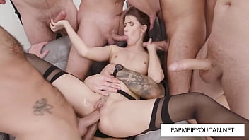 Nicole Black In A Double Anal Penetration