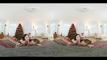 Czech VR 390 - Free Christmas VR Porn Experience With TwoHorny Sluts