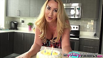 Janna Hicks Surprises Step-Son With Cake And a Creampie!