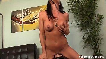 Riding Her Vibrator Deep When Horny