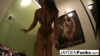 Jayden Jaymes's Dressing Room Solo