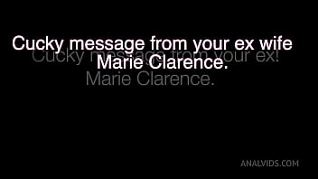 Cucky message from your ex Marie Clarence… JL046
