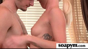 Soapy Massage End With a Big Cumshot 10