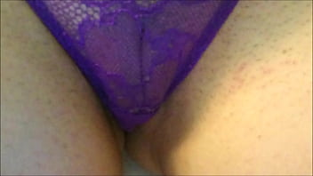 Brand new wife in panties with smooth pussy