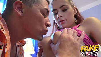 Fake Hostel - Tall Sexy Young Russian Teen Girl With Natural Pert Torpedo Tits And Nice Tight Wet Shaved Pussy Gets Fucked By An Older Man With Thick Cock At The Hostel On Her Journey Of Discovery Around Europe