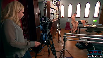 Amateur couple goes to adult film school to make a porno movie