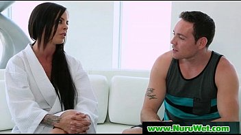 Slippery Massage With Nuru Gel Sex Video 27