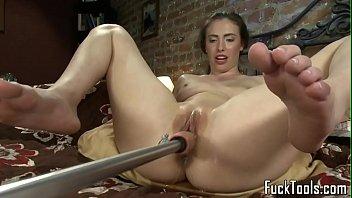 Toy masturbation - Masturbating amateur squirts getting toyed