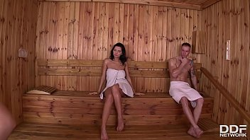 Sauna sex on xhamster Sensual pussy licking in the sauna with nicole smith kira queen