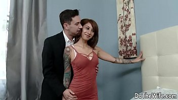 Wanton Wife Stassi Sinclair Fucks a Stud as Her Lame Hubby Looks On 9 min