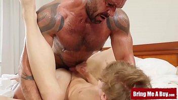 BRINGMEABOY Bruno Turbo Fucks Slutty Stepson After Shower