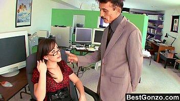 Nymphomaniac Secretary Plowed At The Office