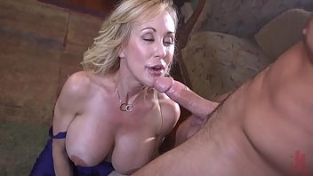 Milf in trouble : Brandi Love is tied up and fuck hard by a crazy fan Image