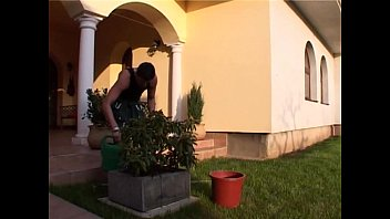 Busty French Wife Anal Fucked By Gardener