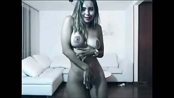 Foreign girl's nude dance