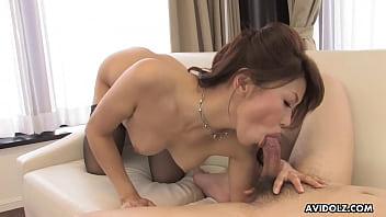 Japanese Cock Teaser, Runa Sezaki Is Horny, Uncensored