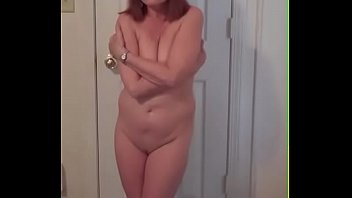 Showing off my naked wife Redhot redhead show 1-26-2017