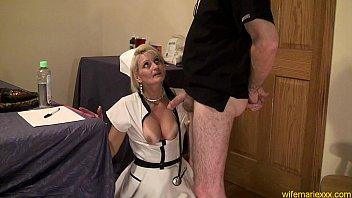 Nurse Gape  mature anal whore nurse cosplay 4 min
