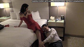 Ballbusting: Ms. Morgan Chase kicks Andrea Diprè in the balls