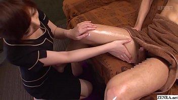 Image: JAV CFNM massage clinic handjob by two masseuses Subtitles
