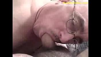 Gay senior grandpas naked - Grandpa daddy sucking uncut