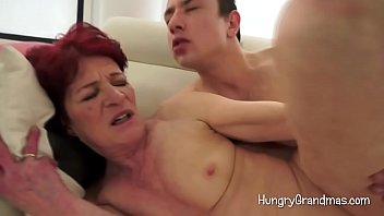 Hungry Granny Gets Her Cunt Licked