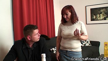 Mature women stripping boys - Strip poker leads to old threesome