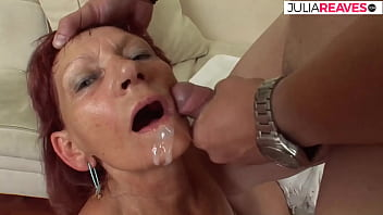 Let the milf scream with big cock