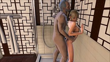 Fallout 4 Marie Rose in the shower with grandpa 12 min