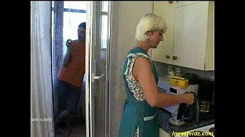 Seduced on the kitchen